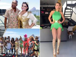 Bloco da Preta reúne famosos e agita o domingo pré-Carnaval do Rio