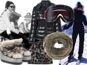 Na alta temporada de esqui, uma wishlist para fazer bonito na neve