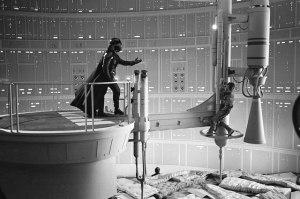 Por trás da guerra: o making of de Star Wars em série de fotos vintage