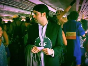 Fantasia de gif do John Travolta vira sensação nas redes sociais