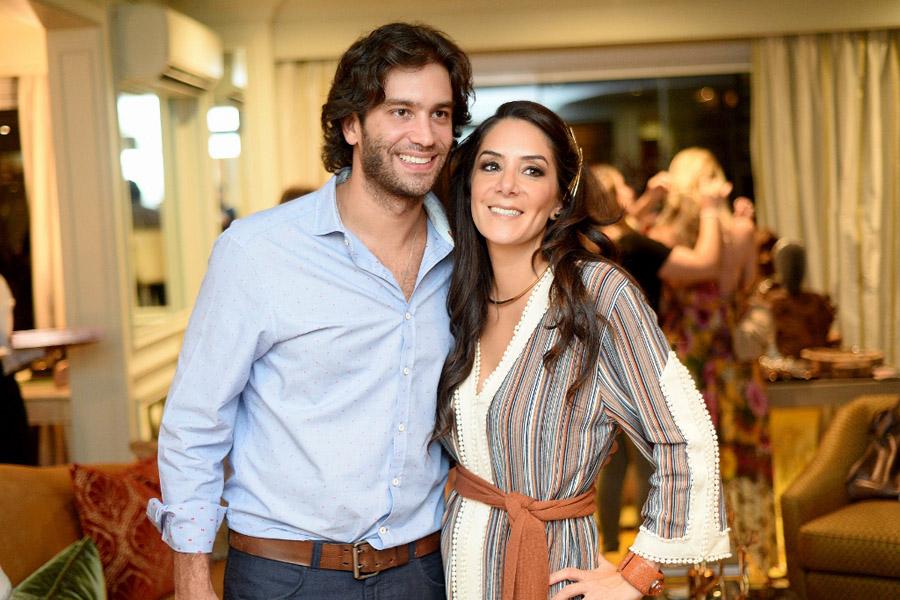 Gabriel Kairalla e Luiza Setúbal