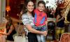 Luciana Faria Belli e o pequeno Lucas