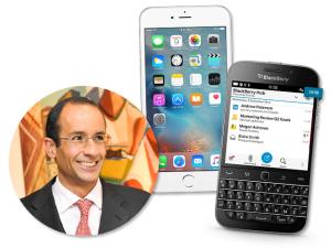 Os aparelhos da Blackberry são conhecidos por ter segurança redobrada e dados criptografados
