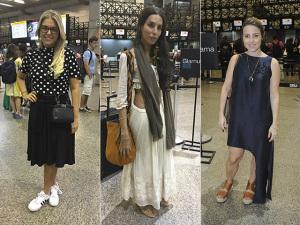 Os top 3 looks das glamurettes no aeroporto rumo a Salvador