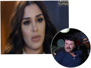 Mulher do traficante El Chapo pode virar estrela de reality show