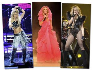 De rock e gypsy, 10 figurinos arrasadores de Shakira no dia de seu aniversário