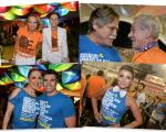 Lenny Niemeyer, Andrea Dellal, Jose de Abreu, Ian McKellen, Claudia Raia e Jarbas Homem de Mello mais Paula Fernandes