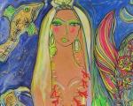 A homenagem de Isabelle Tuchband para Iemanjá
