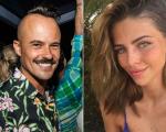 Vanessa Siqueira Ribeiro e o ator Paulinho Vilhena formam um novo casal