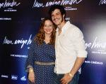 Mateus Solano com a mulher, Paula Braun