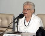 Brasília - A deputada Luíza Erundina, preside o Seminário Um Ano do Fórum Brasil de Comunicação Pública (Antonio Cruz/Agência Brasil)