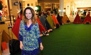 Festa do pijama agita a noite da criançada no Center Norte