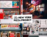 O projeto registra a memória de pizzarias antigas de Nova York