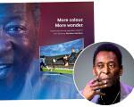 Pelé não gostou do que viu na propaganda da Samsung