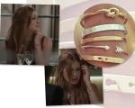 Mix de pulseira de Eliza na novela Totalmente Demais da Rede Globo    Créditos: Divulgação