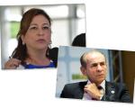Ministros Katia Abreu e Marcelo Castro, do PMDB, foram chamados por Dilma