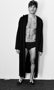A fila A e a passarela da estreia de Murilo Lomas na semana de moda