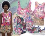 Crush of colours na nova coleção da Adidas em parceria com a Farm