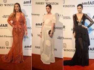 As bem-vestidas da sexta-feira no 6º baile de gala da amfAR