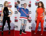 Taylor Swift, Justin Bieber e Selena Gomes no iHeartRadio Music Awards