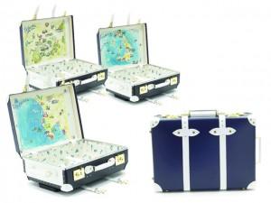 Globe-Trotter e Luxury Collection lançam malas inspiradas nos paraísos gregos