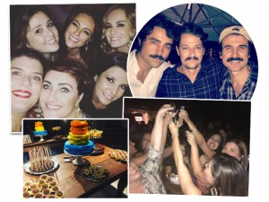 "Paolla Oliveira: festa de ""niver"" com Papinha e amigos famosos no Rio"