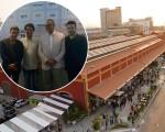 Luiz Calainho, Duda Magalhães, Eduardo Eugênio Gouvêa Vieira, da Firjan, e Carlos Tufvesson....