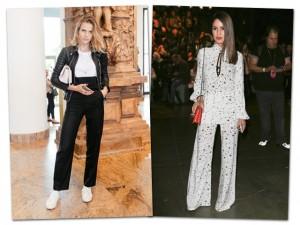 Na semana de moda, as mais bem-vestidas fora das passarelas