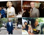 Marília Gabriela, Andrea Matarazzo, Augusto de Arruda Botelho e Luiza Helena Trajano