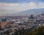 Bogota, Colombia - Looking towards Usaquen from La Calera