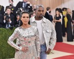 Kim Kardashian e Kanye West no Met Gala deste ano