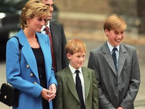 Harry e William preparam homenagem pelos 20 anos da morte de Lady Di