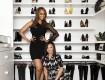 Lisa Adams e Tyra Banks no seu closet dos sonhos