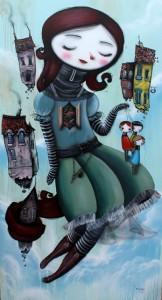 """Casal de artistas expõe """"Hora do Chá"""" na Luis Maluf Art Gallery"""