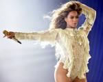 """Beyoncé em um show da turnê """"The Formation World Tour"""""""