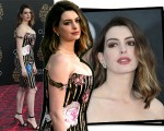 Agora mãe, Anne Hathaway está de volta aos red carpets