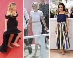 Julia Roberts, Kristen Stewart e Sasha Lane descalças pela igualdade em Cannes