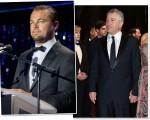 Leonardo Di Caprio e Robet De Niro apostam em modelos Giorgio Armani para eventos de Gala