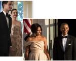 Miranda Kerr com em jantar de Michelle e Barack Obama