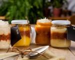 As porções da Freshie são servidas em potes de vidros que garantem o frescor