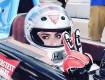 Lady Gaga arrasou na produção para participar da Indy 500