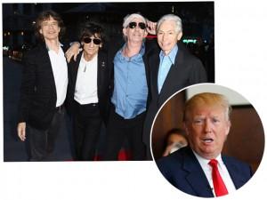 Rolling Stones proíbem uso de suas músicas por Donald Trump