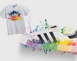 Alguns dos produtos Adidas especiais para a Parada Gay que chegaram ao Brasil