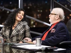 Leticia Sabatella fala sobre crise política em entrevista para Jô Soares