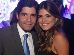 ACM Neto e Tayane Lacerda Canhedo oficializam noivado em Brasília