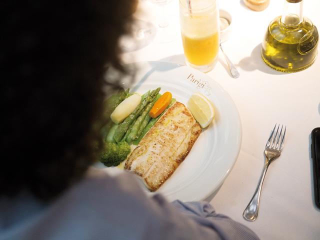 Casagrande mantém uma dieta regrada