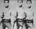 Triple Elvis, obra de ANdy Whorl semelhante a exposta no SFMOMA