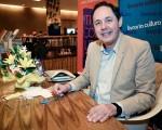 Eduardo Giannetti nessa segunda-feira, na Livraria Cultura do Conjunto Nacional, em São Paulo
