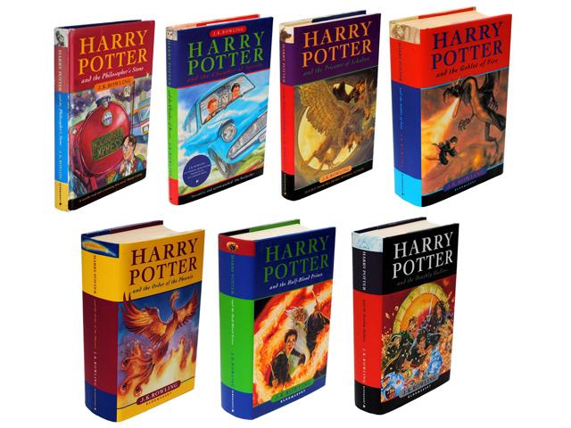 Sete livros da saga Harry Potter