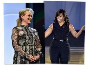 Meryl Streep e Michelle Obama juntas na África? Sim, e por uma boa causa